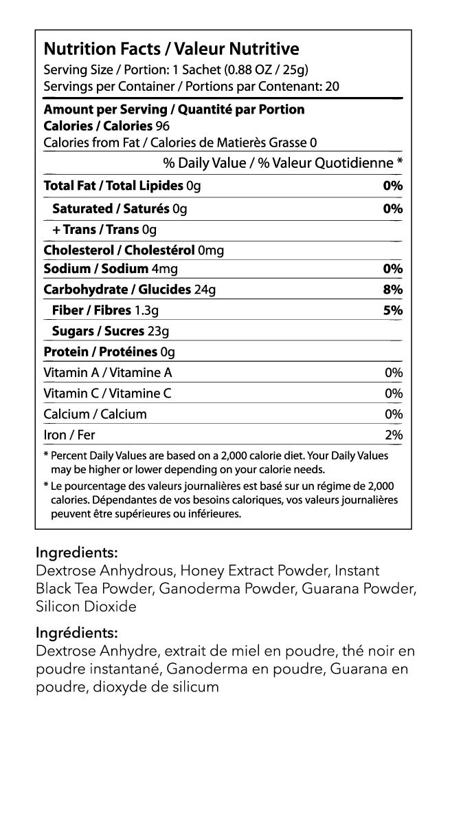 Black Ice TeaIngredients